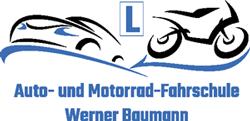 Auto- und Motorrad-Fahrschule Werner Baumann Logo